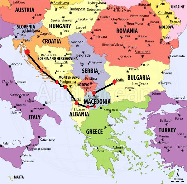 Crte Balkans