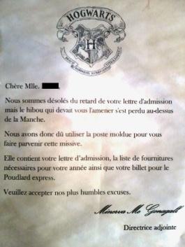 """Résultat de recherche d'images pour """"lettre poudlard 1er septembre"""""""